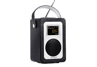 ARTSOUND Internet radio DAB+ R4 Zwart