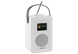ARTSOUND Radio internet R4 Blanc