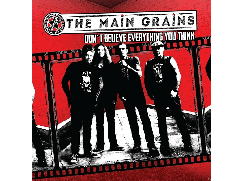 Main Grains - Don't Believe Everything You Think [CD]