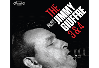 Jimmy Giuffre - Jimmy Giuffre 3 & 4 - New York Concerts (Digipak Edition) (CD)