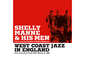Shelly Manne & His Men - West Coast Jazz in England (CD)