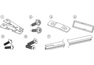 AMICA 00700, Connector Set