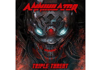 Annihilator - Triple Threat - (CD + Blu-ray Disc)