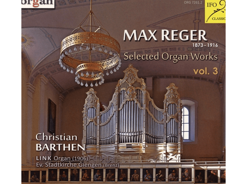 VARIOUS, Barthen Christian - Selected Organ Works Vol.3 [CD]