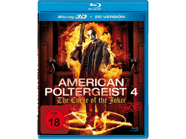 American Poltergeist 4-The Curse Of The Joker [3D Blu-ray (+2D)]