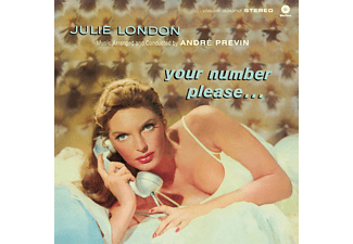 Julie London - Your Number Please... (HQ) (Vinyl LP (nagylemez))
