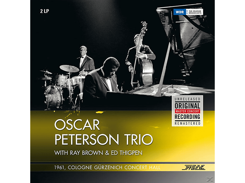 Oscar Peterson Trio (with Ray Brown & Ed Thigpen) - 1961 Cologne Gürzenich Concert Hall [Vinyl]