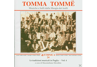 VARIOUS - Tomma Tomme/Murgia - (CD)