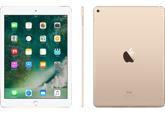 APPLE iPad Air 2 Wi-Fi, Tablet mit 9.7 Zoll, 32 GB Speicher, iOS 9, Gold