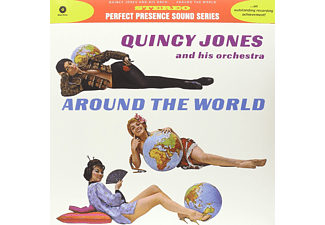 Quincy Jones & His Orchestra - Around the World (HQ) (Vinyl LP (nagylemez))