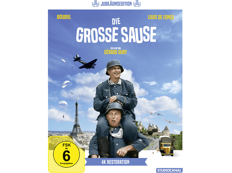 Die Grosse Sause (Jubiläumsedition/Digital ReM.) [Blu-ray]