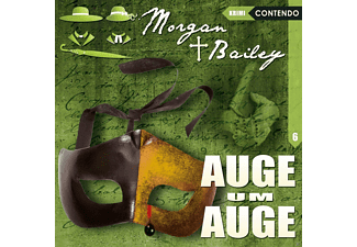 006 MORGAN & BAILEY: AUGE UM AUGE - 1 CD - Krimi/Thriller