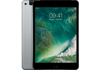 APPLE MK8D2FD/A iPad mini 4 WiFi + Cellular, Tablet mit 7.9 Zoll, 128 GB, LTE, iOS 9, Grau