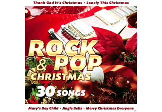 VARIOUS - Rock & Pop Christmas-30 Song - (CD)