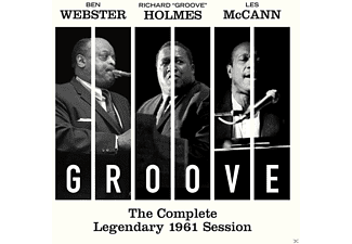 Ben Webster, Les Mccann, Richard Groove Holmes - The Complete Legendary 1961 Session - (CD)