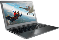 LENOVO IdeaPad 510, Notebook, Core™ i7 Prozessor, 1 TB HDD, 256 GB SSD, GeForce 940MX, Gun Metal