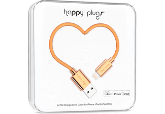 HAPPY PLUGS Lightning To USB Şarj ve Senkronizasyon Kablosu (2.0m) Rose Gold