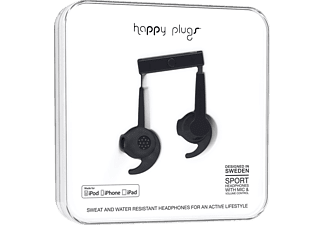 HAPPY PLUGS Sport MFI Black (İn Paper Box) Kulaklık