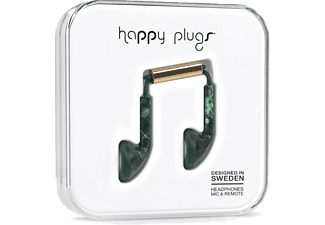HAPPY PLUGS Earbud Green Marble