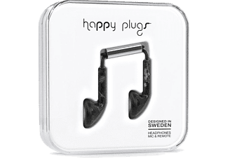 HAPPY PLUGS Earbud Black Marble