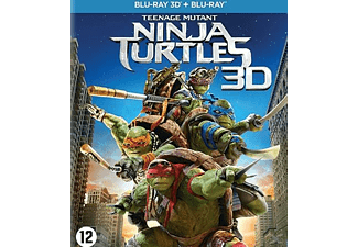 Teenage Mutant Ninja Turtles 3D Blu-ray