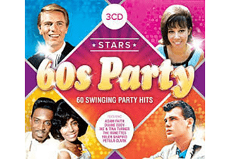 Stars of the 60's Party CD