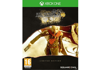 Final Fantasy Type-0 HD Steelbook Limited Edition FR/NL Xbox One
