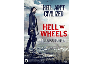 Hell On Wheels - Seizoen 4 - DVD