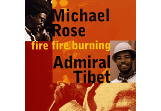 Michael & Admiral T Rose - Fire Fire Burning - (CD)