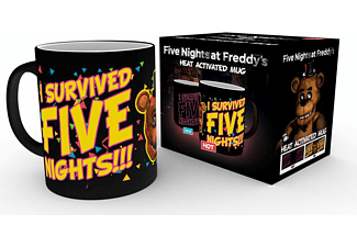 Five Nights At Freddys Thermoeffekt-Tasse Survived