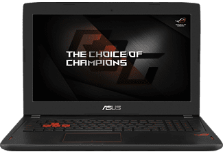 ASUS GL502VM-FY039T, Gaming-Notebook mit 15.6 Zoll Display, Core™ i7 Prozessor, 16 GB RAM, 1000 GB HDD, 256 GB SSD, GeForce GTX 1060, Schwarz
