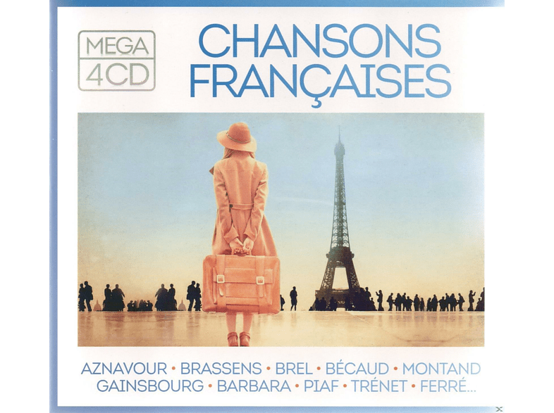 Various - Mega-Chansons francaises [CD]