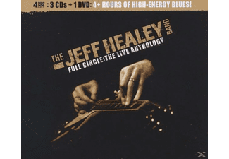 Jeff Healey Band - Full Circle-The Live Anthology - (CD + DVD Video)