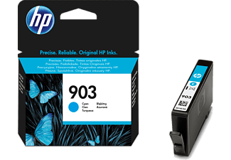 HP 903 Cyan Ink Cartridge - (HPT6L87A)
