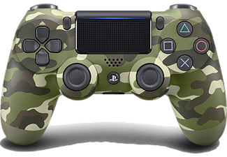SONY PS4 Dualshock Controller Green Cammo v2