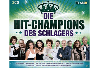 VARIOUS - Hit-Champions Des Schlagers,Die - (CD)