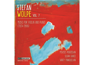 Movses Pogossian, Susan Grace, Varty Manouelian - Volume 7 - Music For Violin And Piano - (CD)