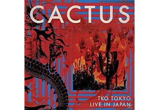 Cactus - TKO Tokyo-Live In Japan - (CD + DVD Video)