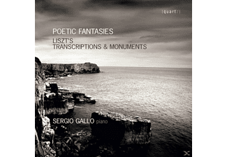 Gallo Sergio - Poetic Fantasies-Liszt's Transcriptions & - (CD)