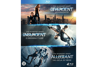 Boxset The Divergent Series Blu-ray
