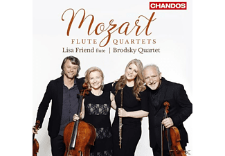 Lisa Friend, Members Of The Brodsky Quartet - Flötenquartette-KV 285,285a,290,285b - (CD)