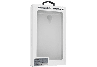 GENERALMOBILE Android One 4G GM5 TPU Backcover Transparant