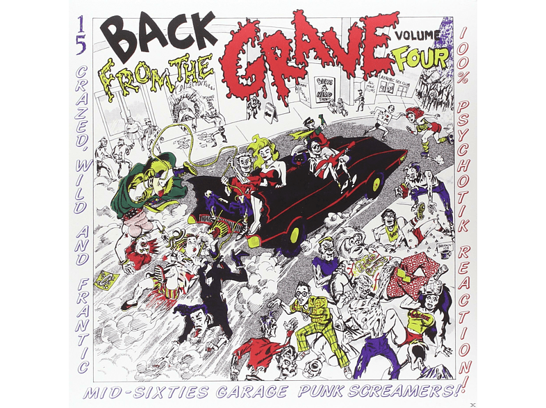 VARIOUS - Vol.4-Back From The Grave [Vinyl]