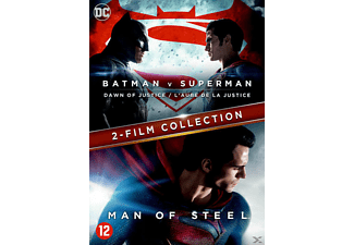 Batman V Superman - Dawn of Justice + Man of Steel DVD