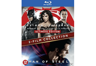 Batman V Superman - L'Aube de la Justice Ultimate Edition + Man of Steel Blu-ray
