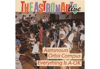 The Astronauts - Live-Everything Is A-Ok/Astronauts Orbit Campus - (CD)