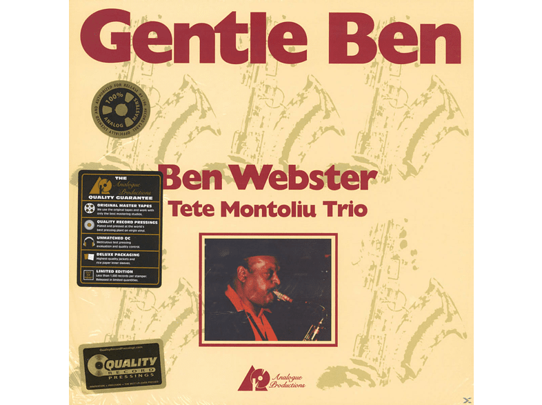 Ben Webster, Tete Trio Montoliu - Gentle Ben (45rpm-edition) [Vinyl]