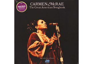 Carmen McRae - The Great American Songbook - (Vinyl)