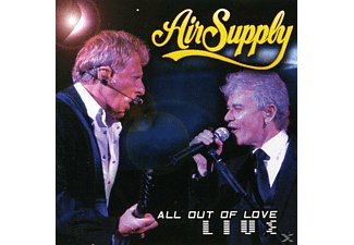 Air Supply - All Out Of Love Live - (CD + Buch)