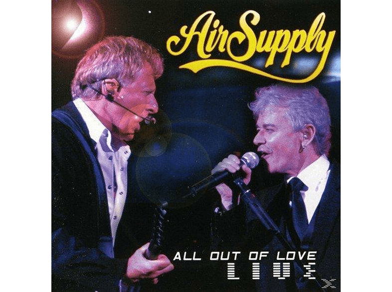 Air Supply - All Out Of Love Live [CD + Buch]